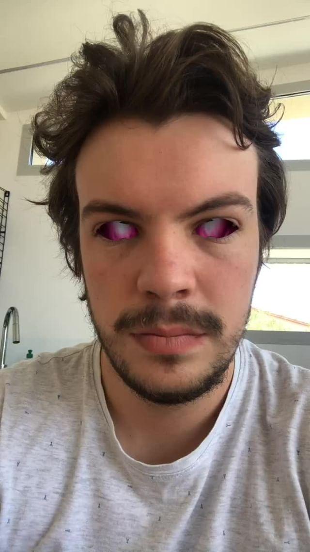 Instagram filter Eyez