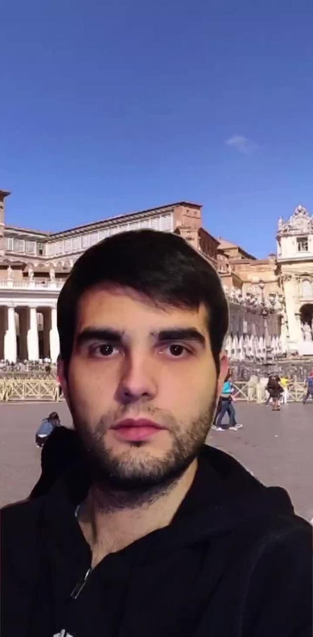 Instagram filter Basilica S.Pietro