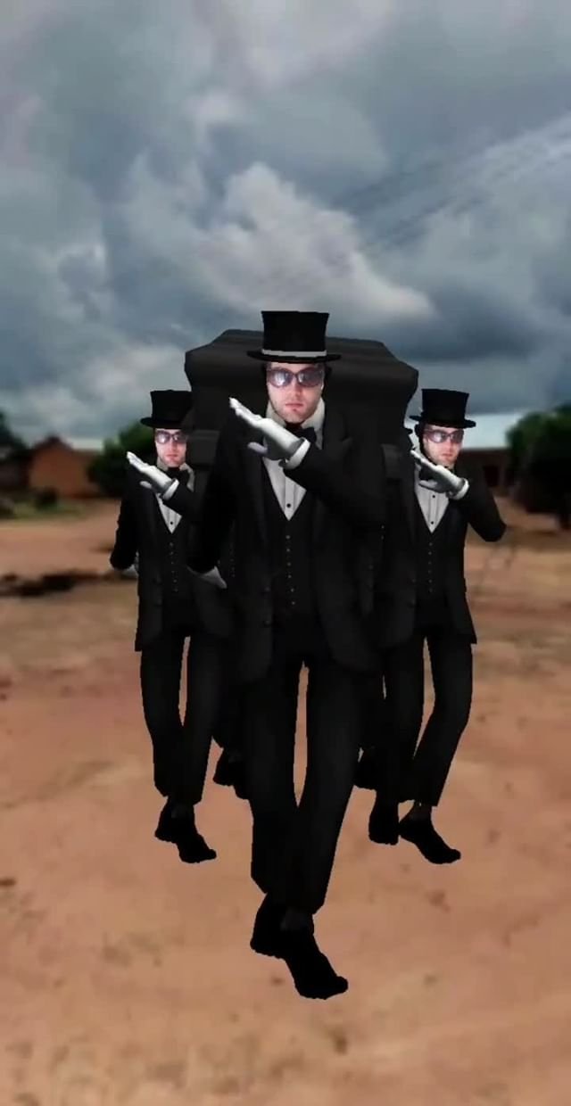 Instagram filter Coffin Dance