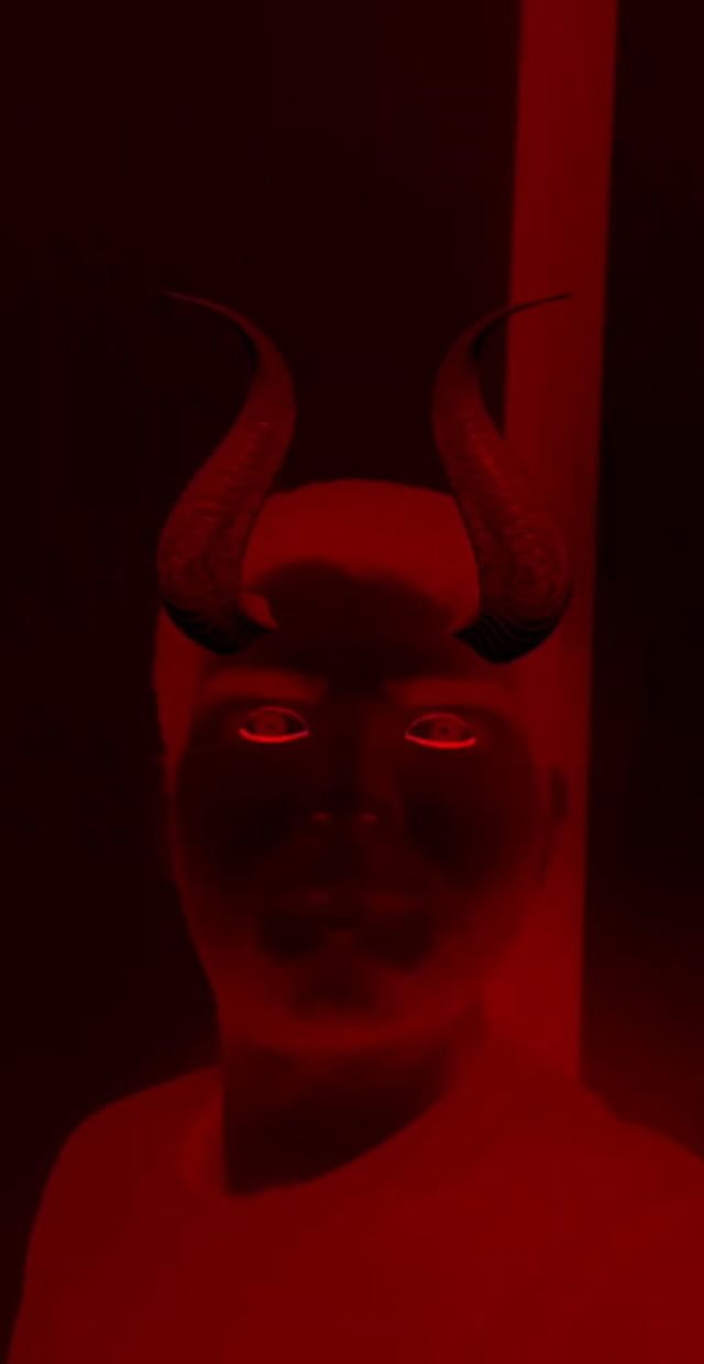 Instagram filter Devil