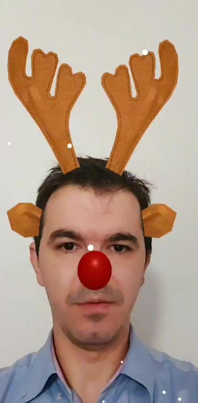 Instagram filter Rudolph