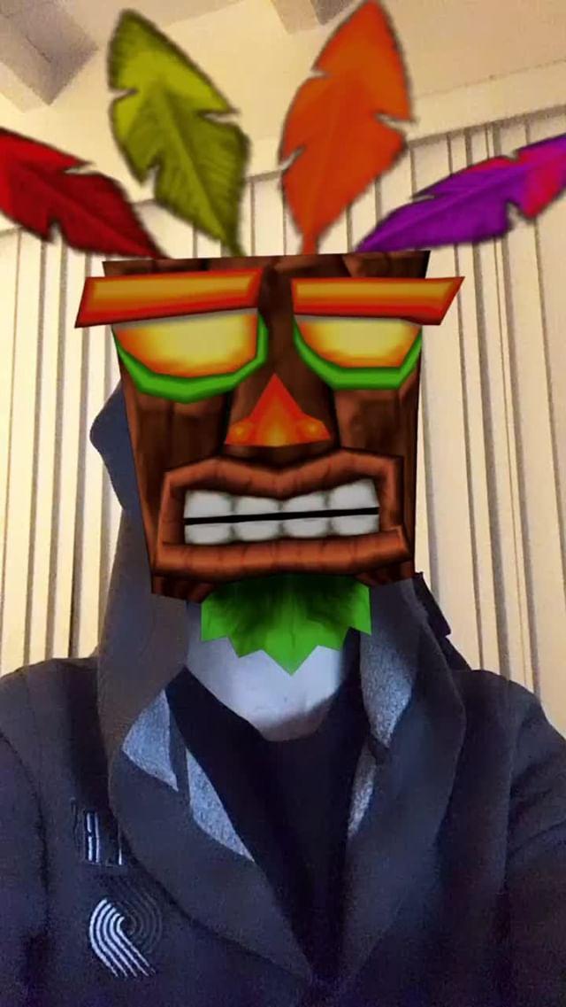 Instagram filter Voodoo Mask