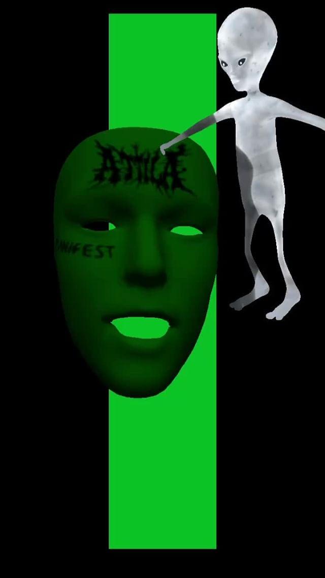 Instagram filter Masked Aliens