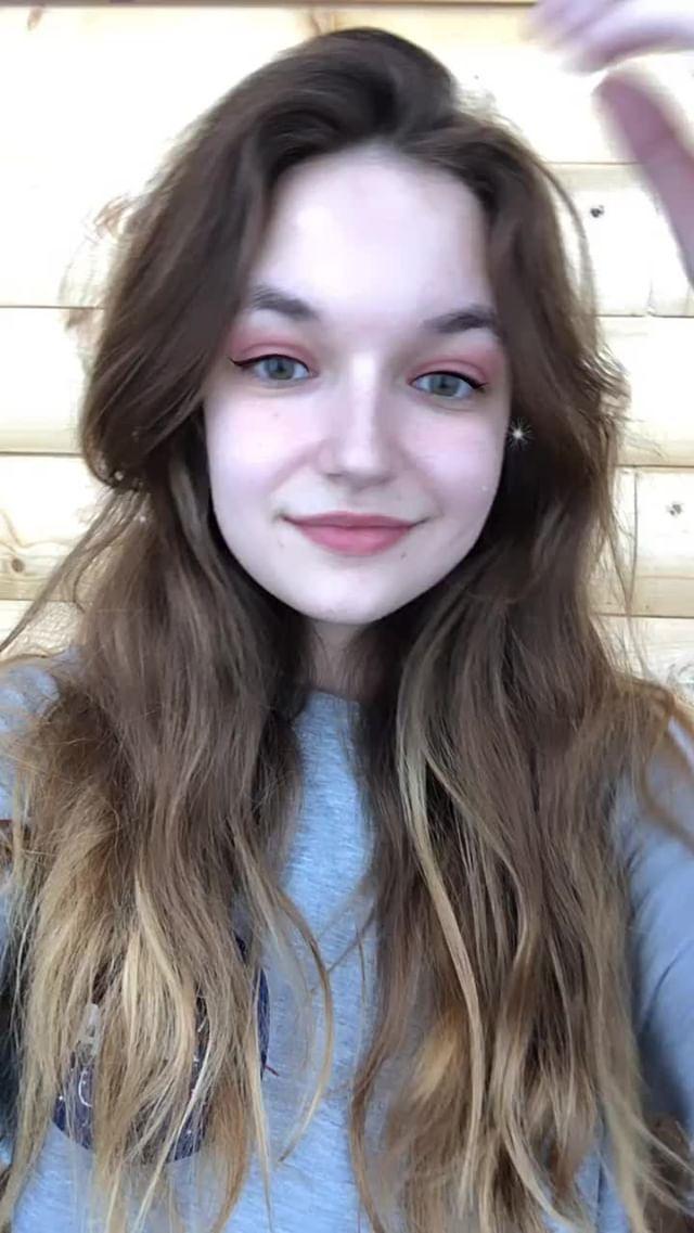Instagram filter Pink Make Up