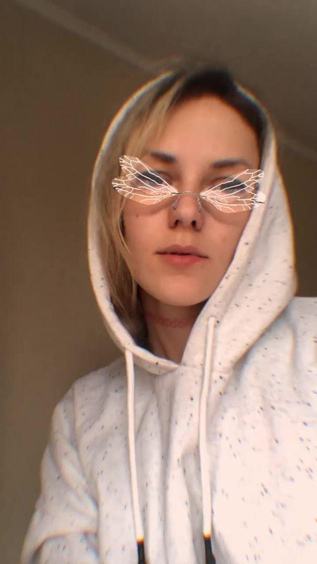 olgakhatkovskaya Instagram filter dragonfly glasses