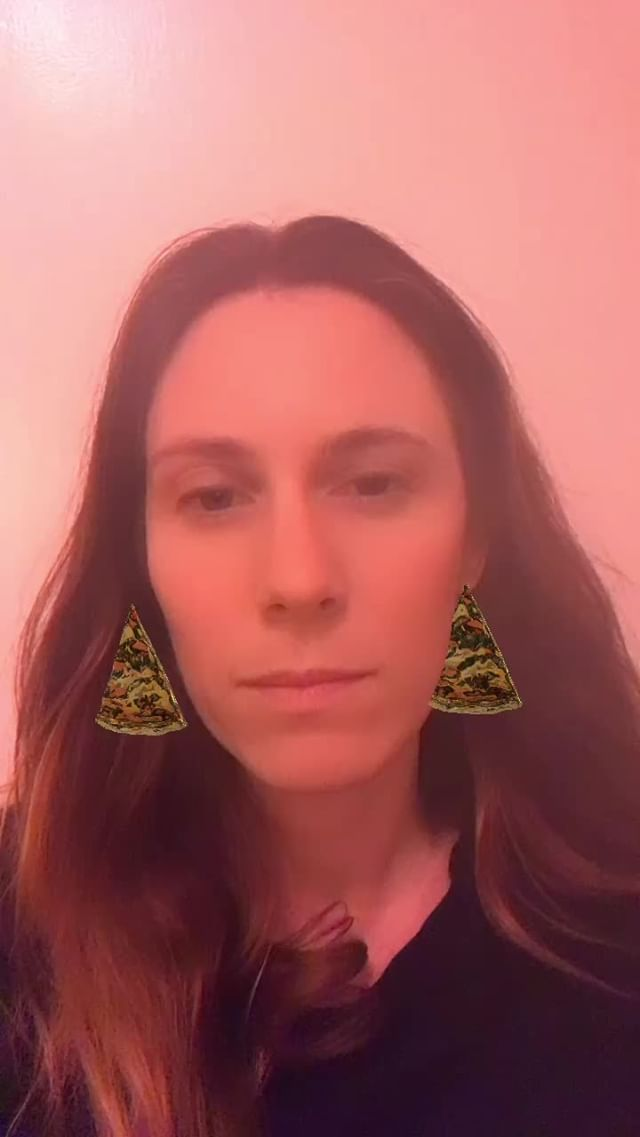 Instagram filter PizzaEarings