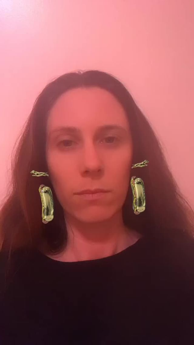 Instagram filter Hot Dog Earings