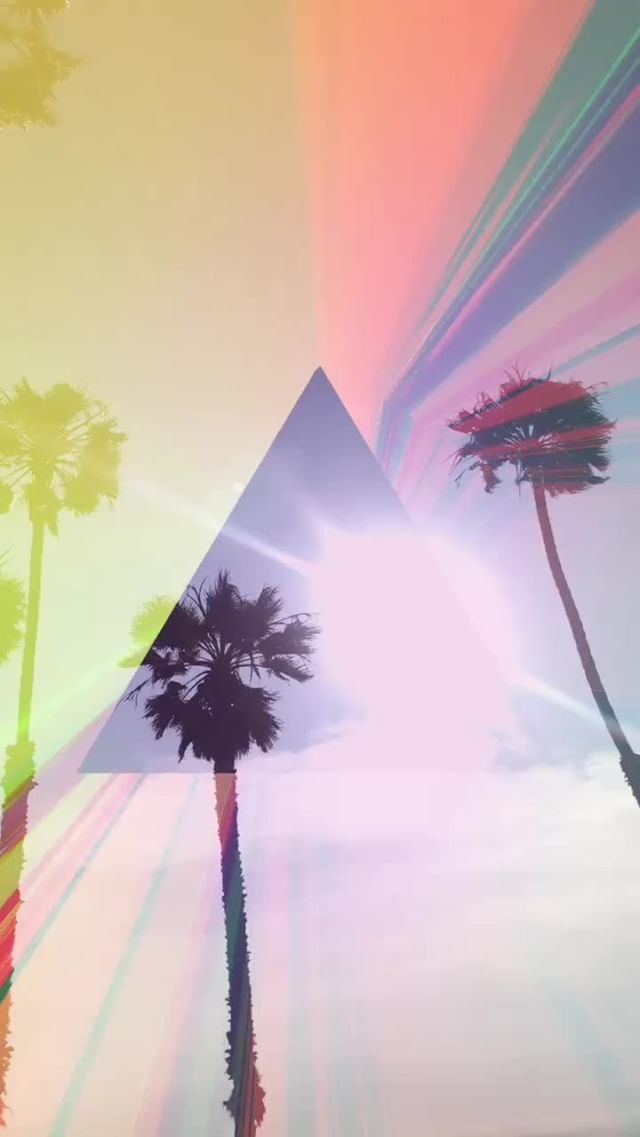 wrld.space Instagram filter Love Prism