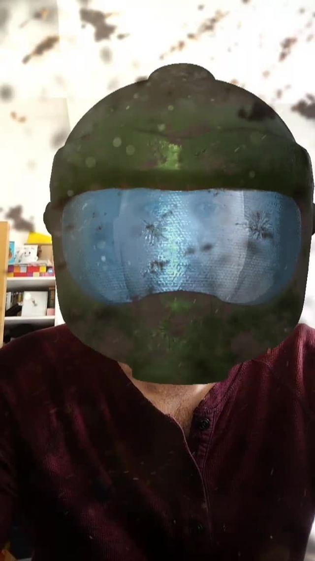 Instagram filter Future Soldier