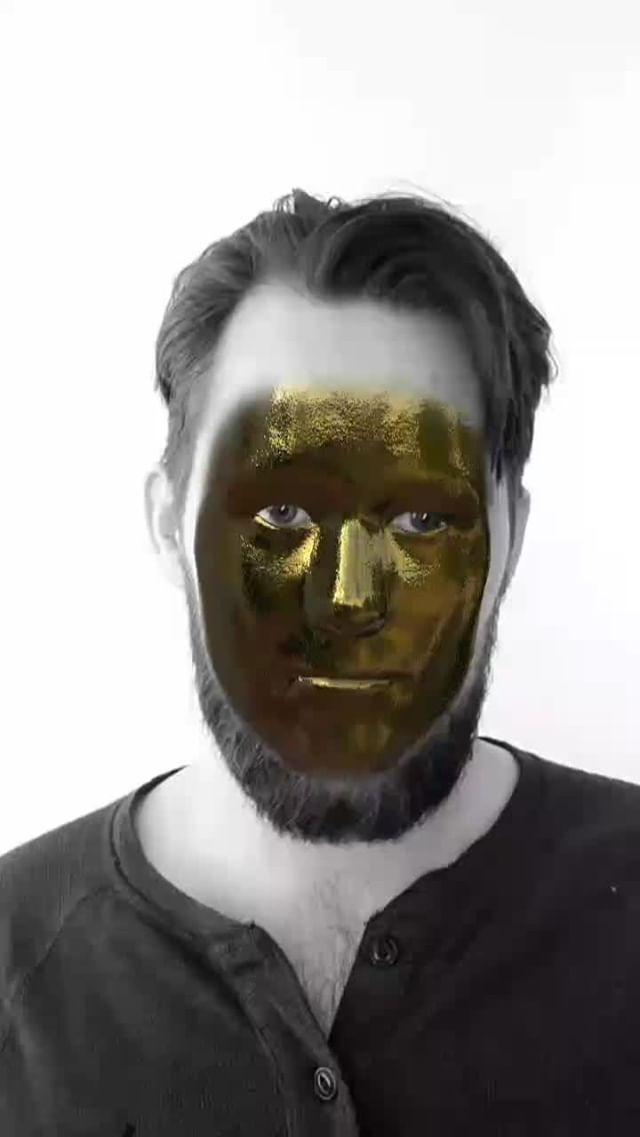 Instagram filter Golden