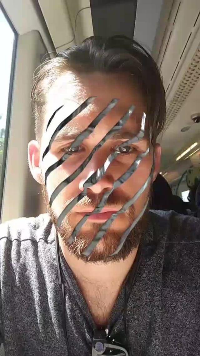 Instagram filter Shredded
