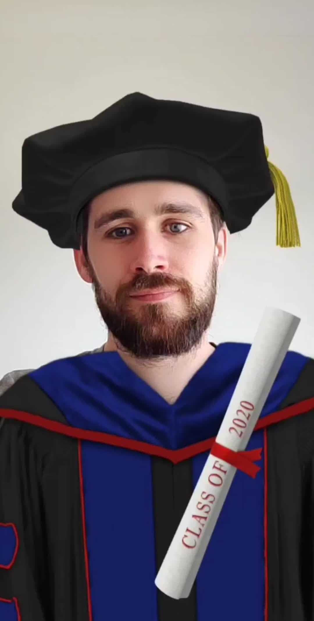 Instagram filter Graduation 2020 PhD