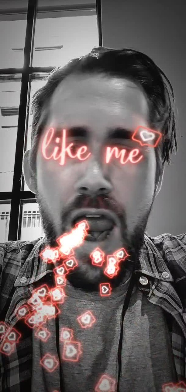 Instagram filter Like Me