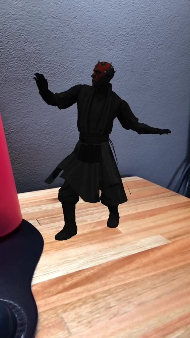 Instagram filter DarthMaulATR