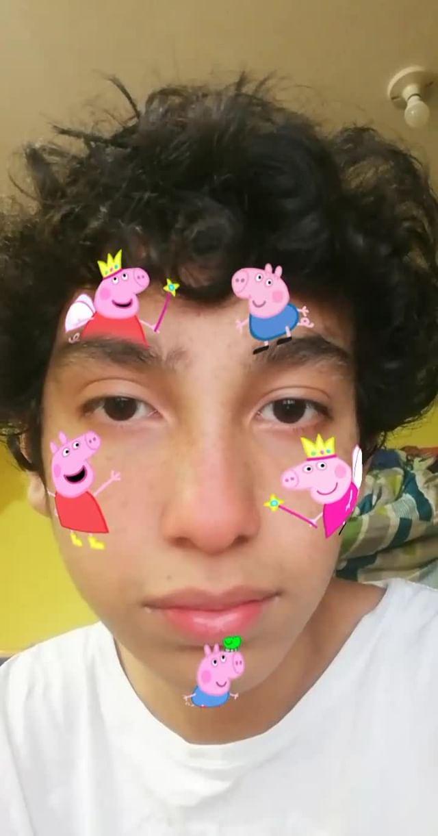 Instagram filter Peppa Pig