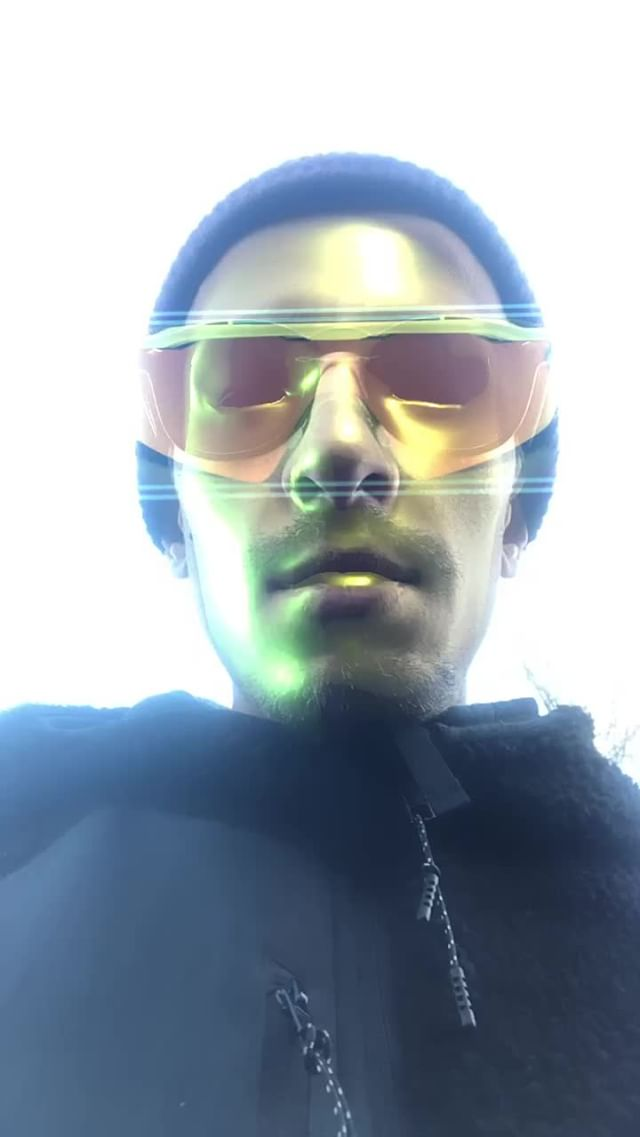 Instagram filter futuristicsunglasses