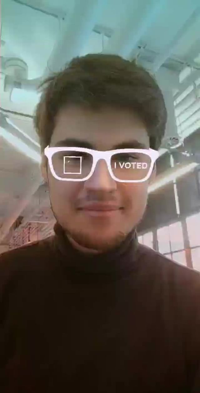 jonothankh Instagram filter I VOTED