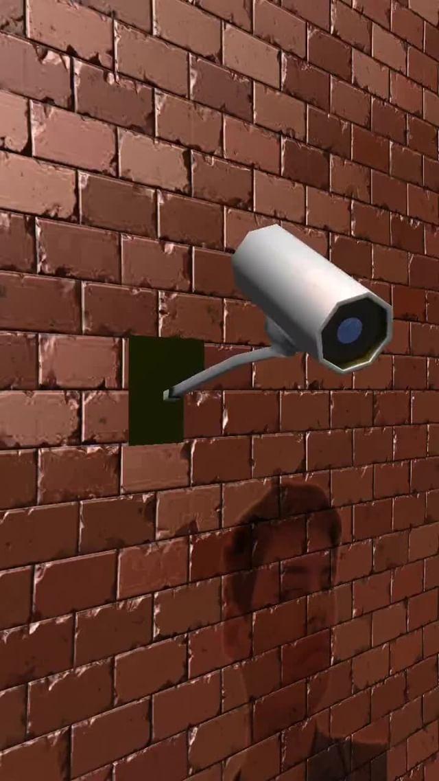 Instagram filter CCTV