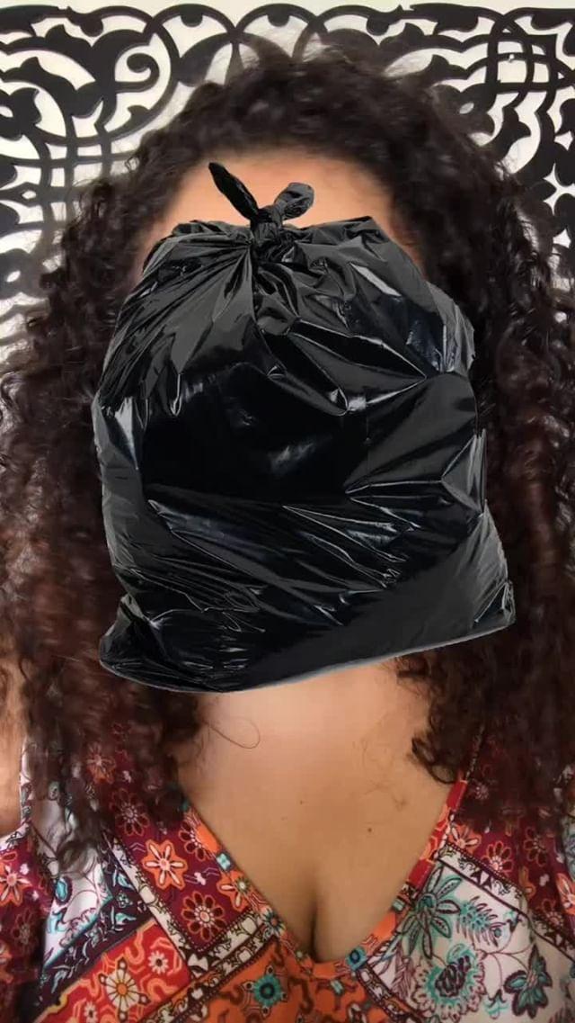 fegrimaldi Instagram filter saquinho de lixo