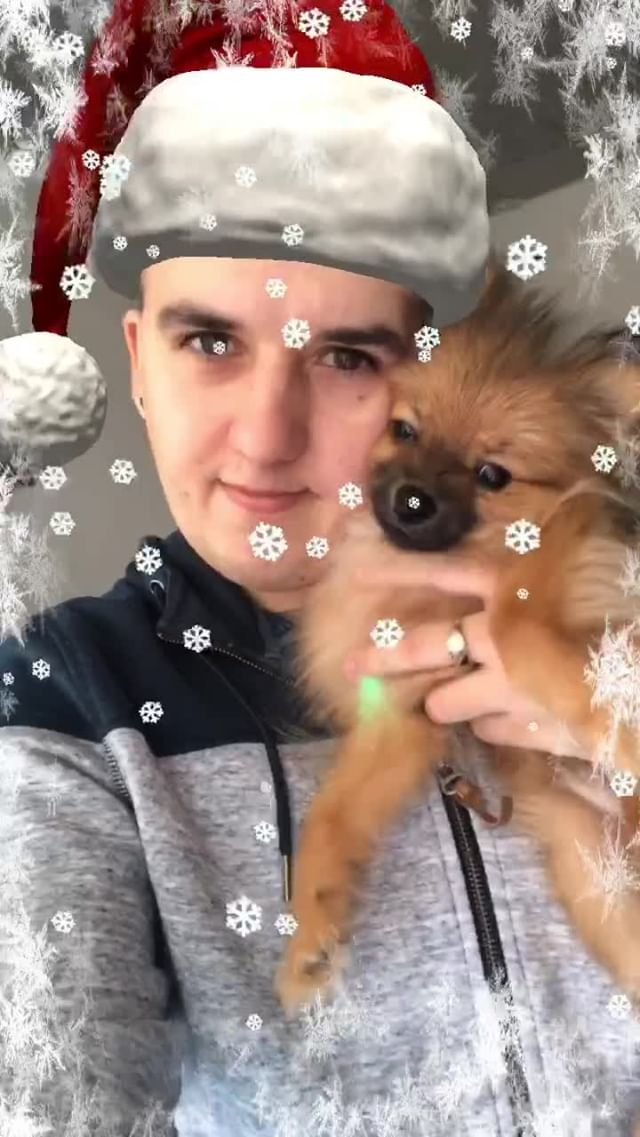 Instagram filter Santa