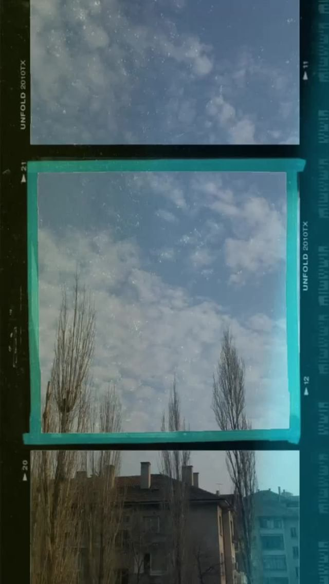 Instagram filter ANALOG FRAME