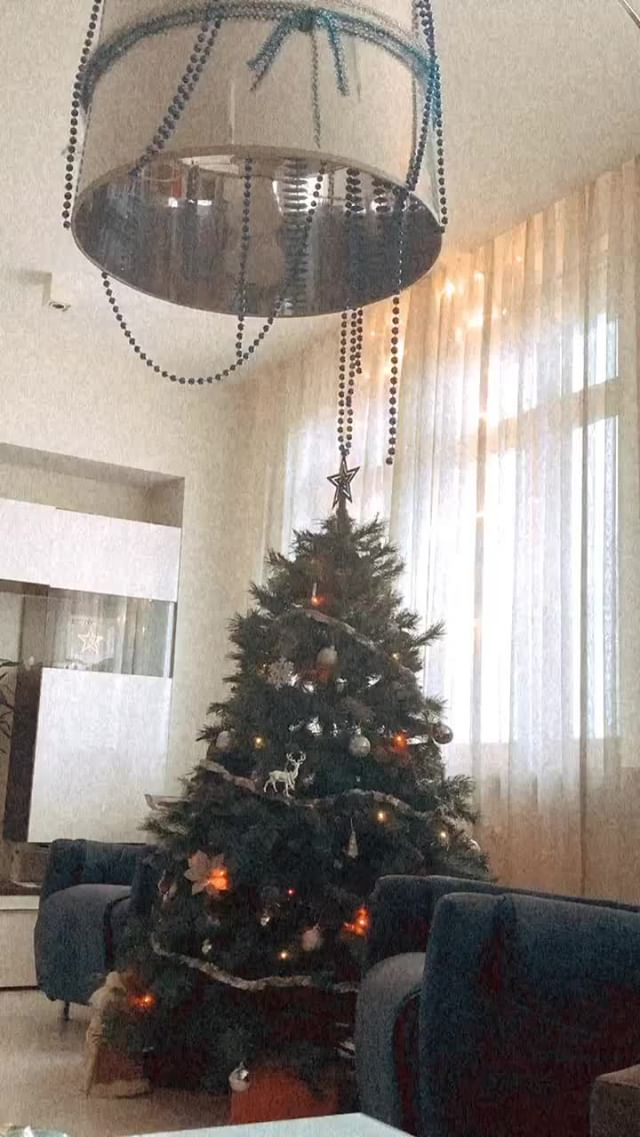 Instagram filter for Christmas mood