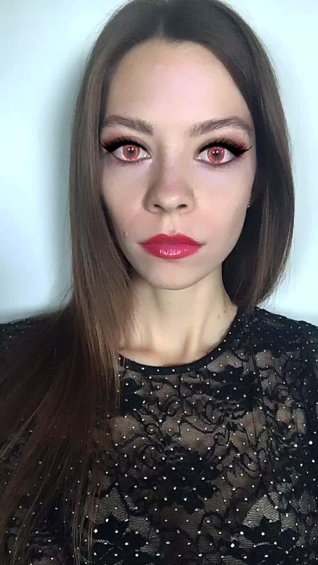 Instagram filter Vampire