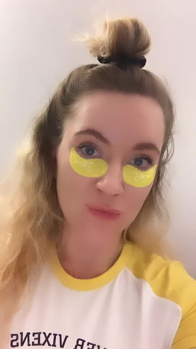 Instagram filter eye patches
