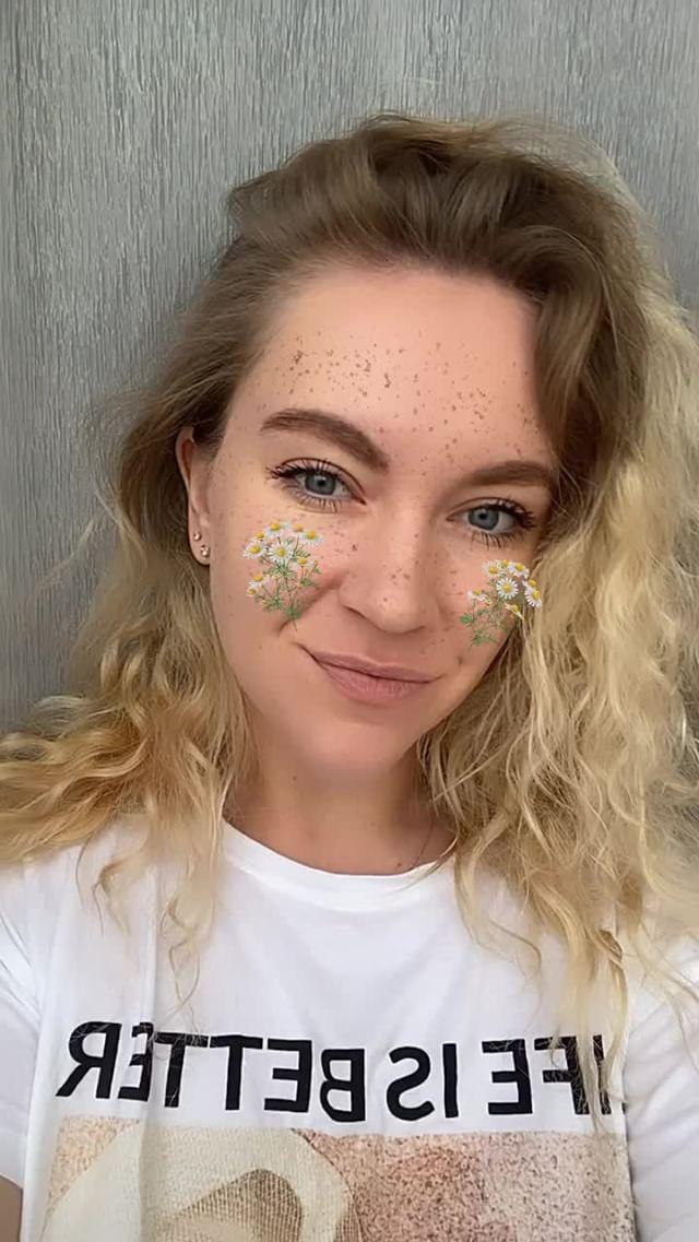Instagram filter chamomile