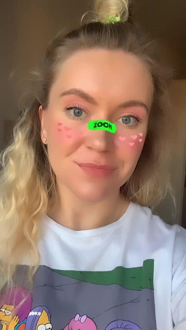 Instagram filter ZoomHeart
