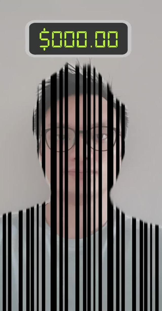 Instagram filter Barcode