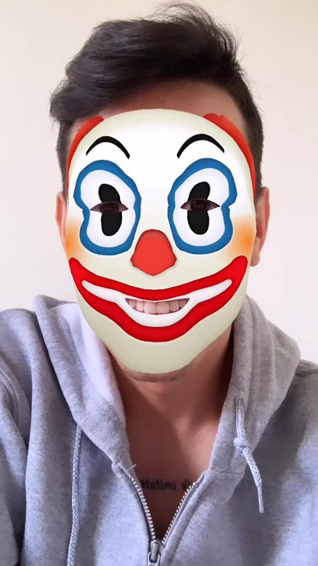 Instagram filter Sux Clown