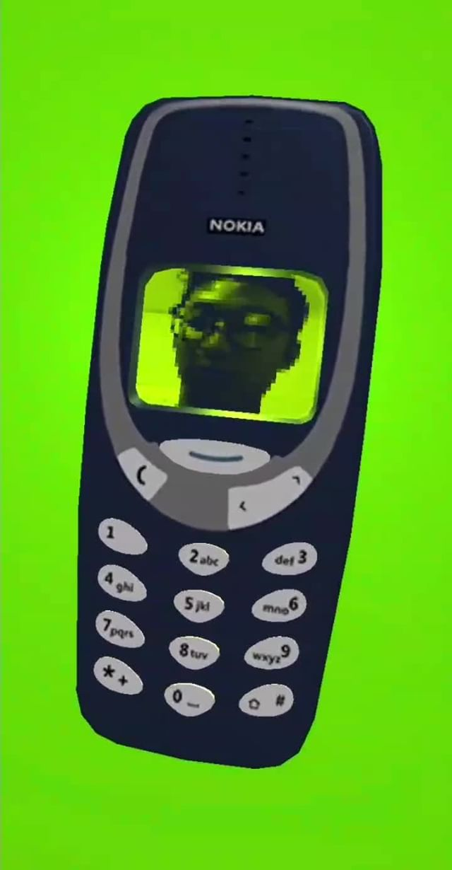 Instagram filter Nokia 3310