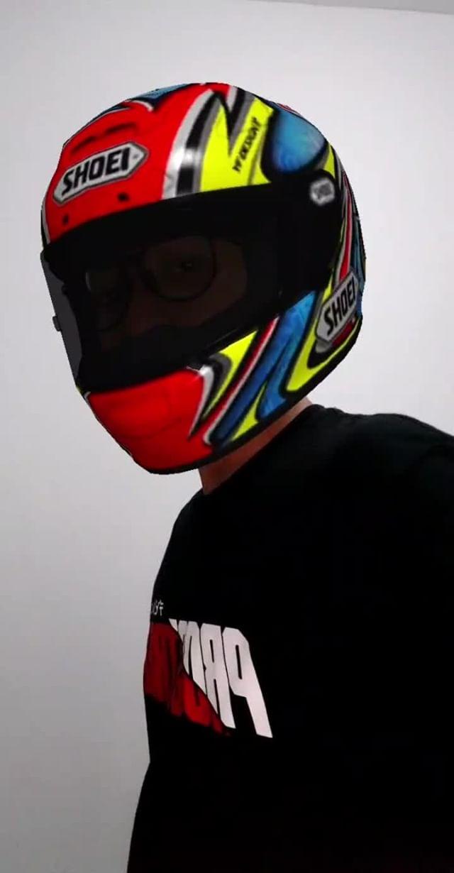 Instagram filter Daijiro74 Helmets