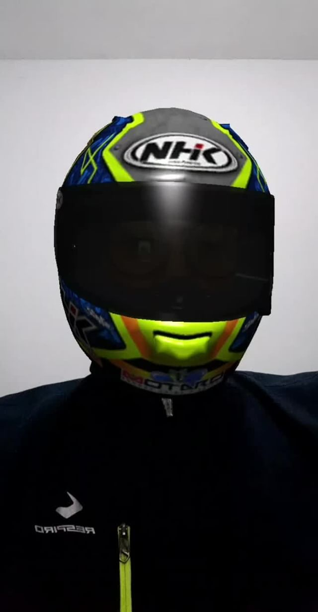 Instagram filter NHK Helmets
