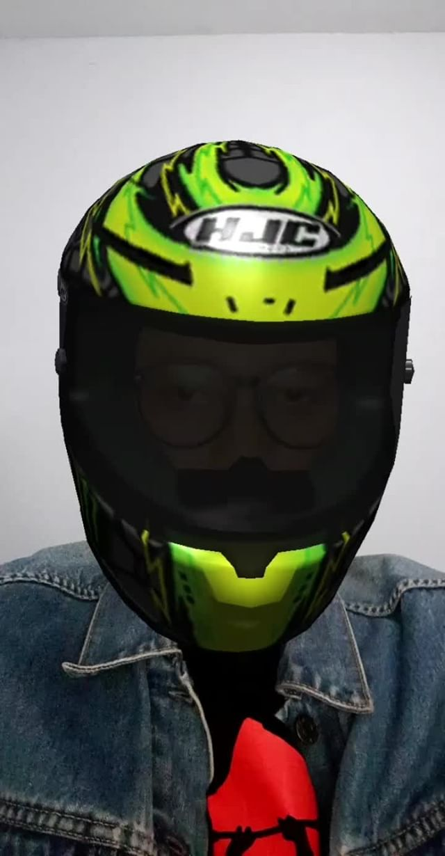 Instagram filter HJC Helmets V2