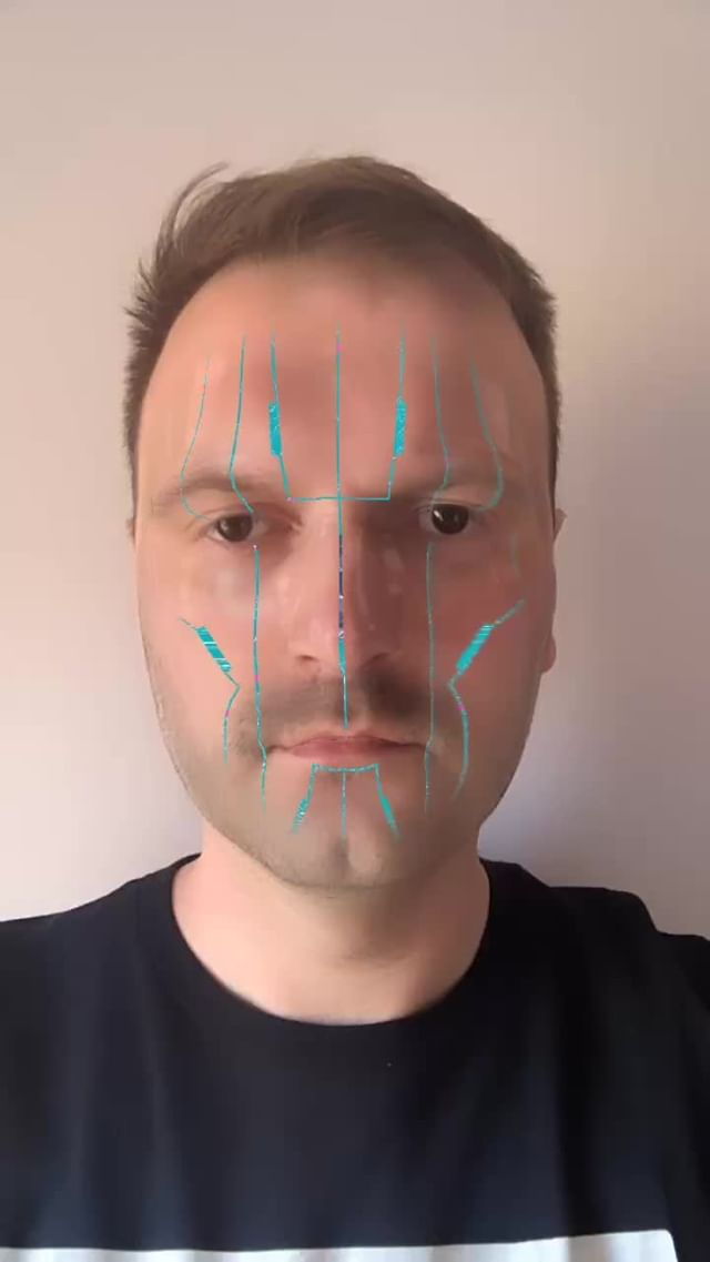 Instagram filter Cyborg