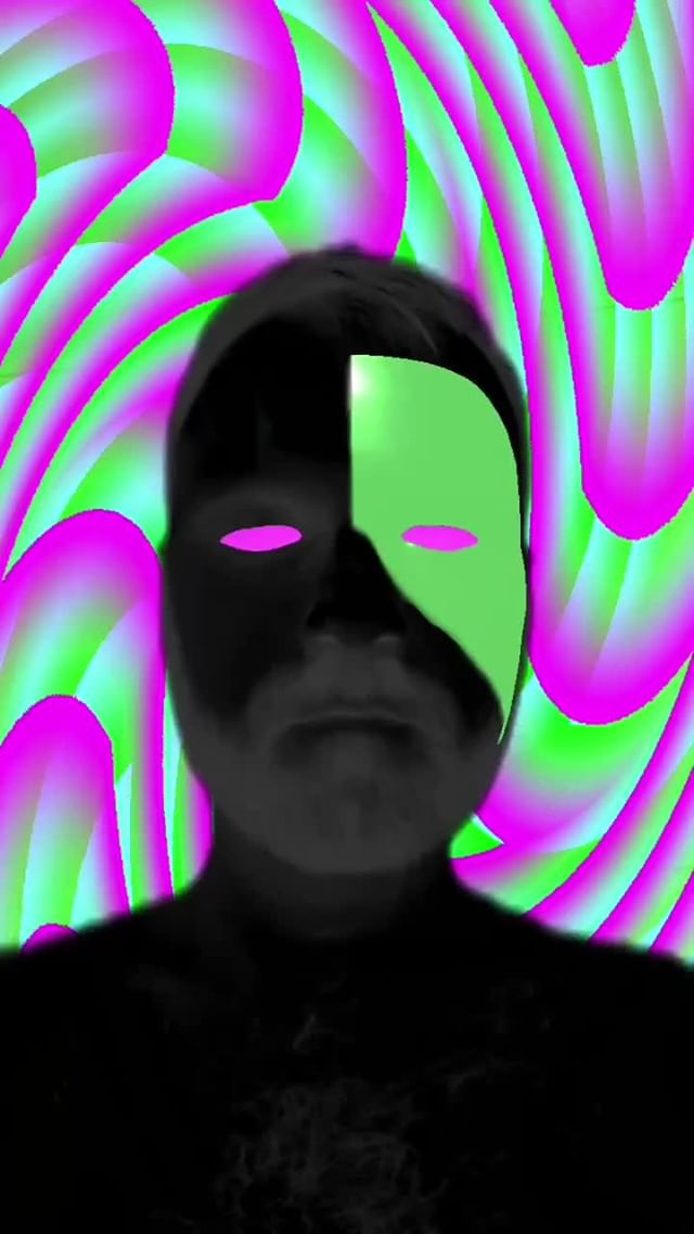 Instagram filter Psychedelic Mask