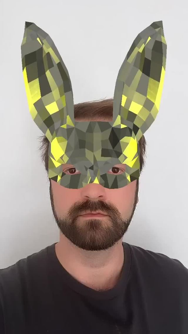 Instagram filter Disco Bunny