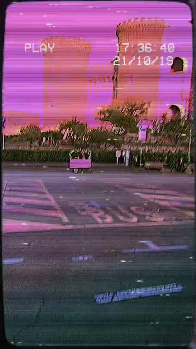 malf.visuals Instagram filter VCR CAMERA
