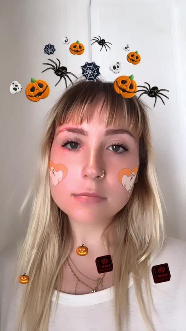 Instagram filter HALLOWEEN 2