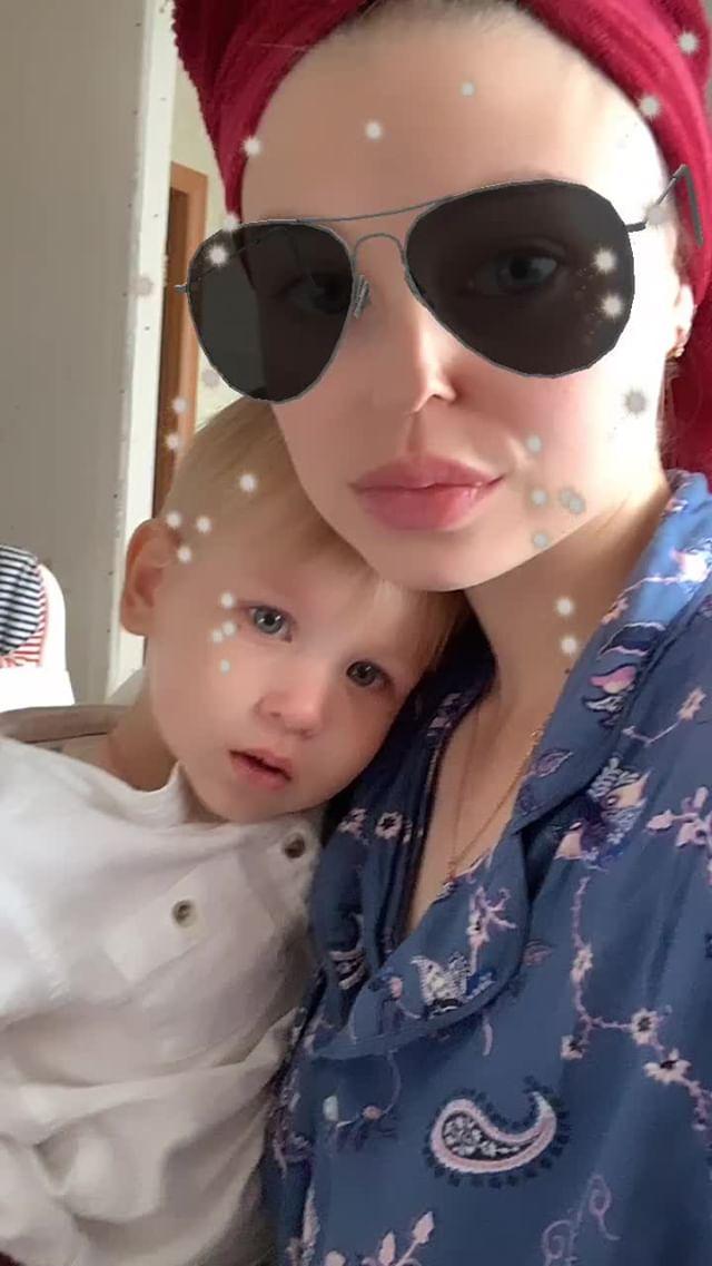 Instagram filter звездные очки