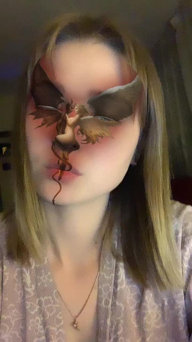 Instagram filter ангел