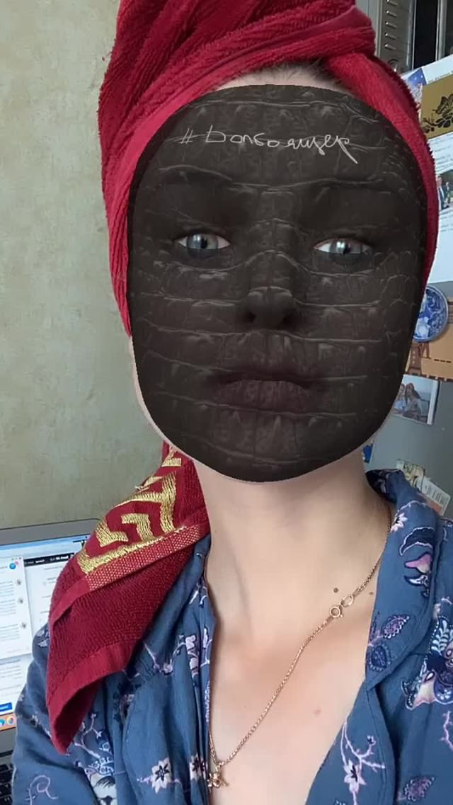 Instagram filter долбоящер