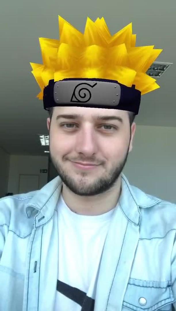 Instagram filter Naruto