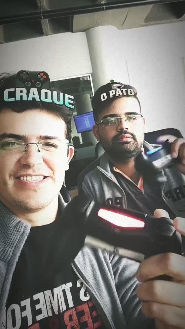 Instagram filter O Craque e o Pato
