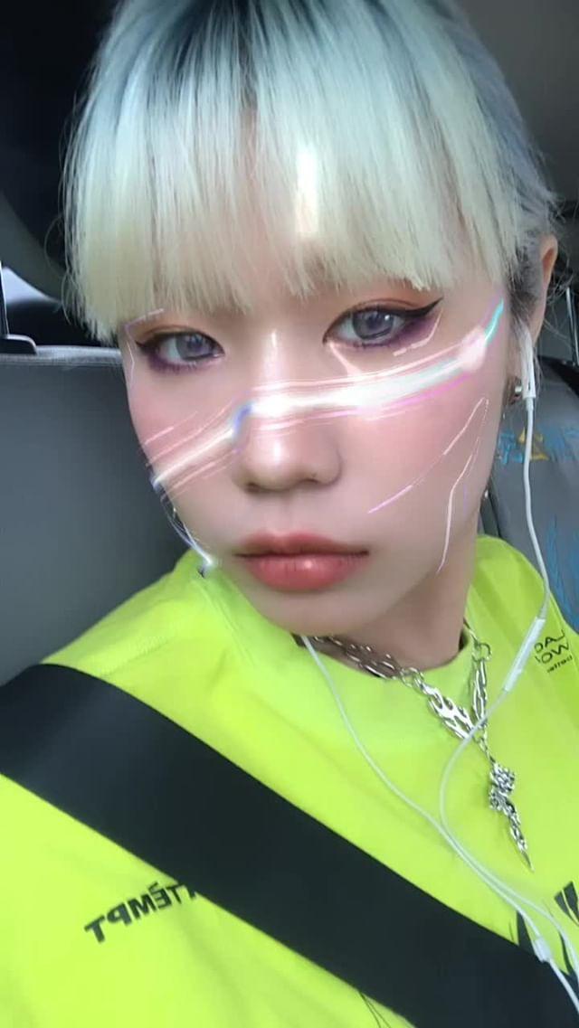 Instagram filter EVA