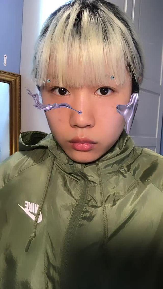 Instagram filter AYANAMI