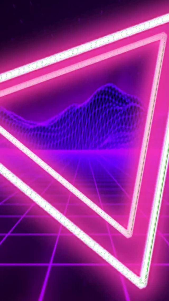 Instagram filter Neon 80s