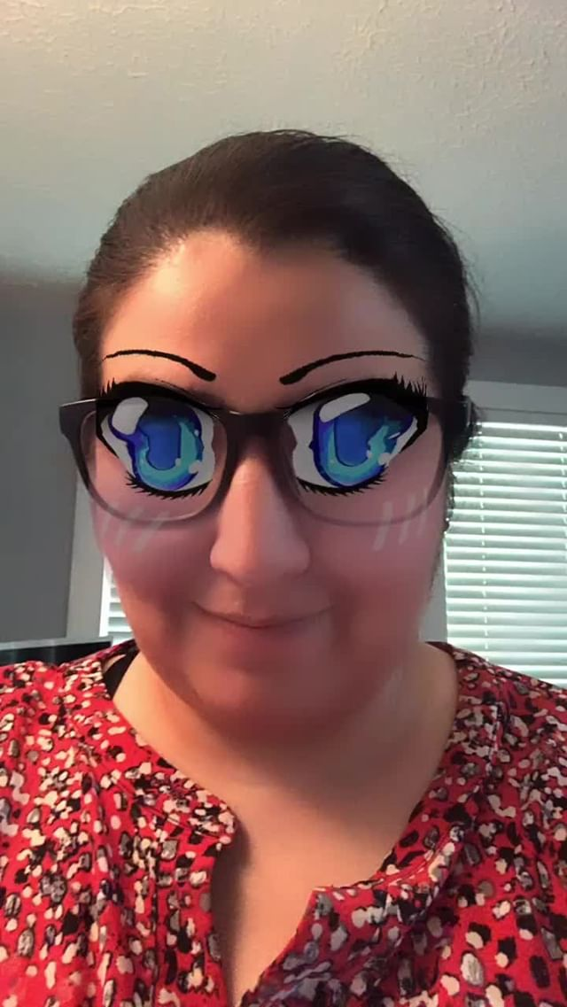 Instagram filter AnimeEyes